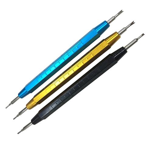 Correa de reloj, Pin de enlace, removedor de barra de resorte, herramienta de reparación de eliminación de relojería 6YGX