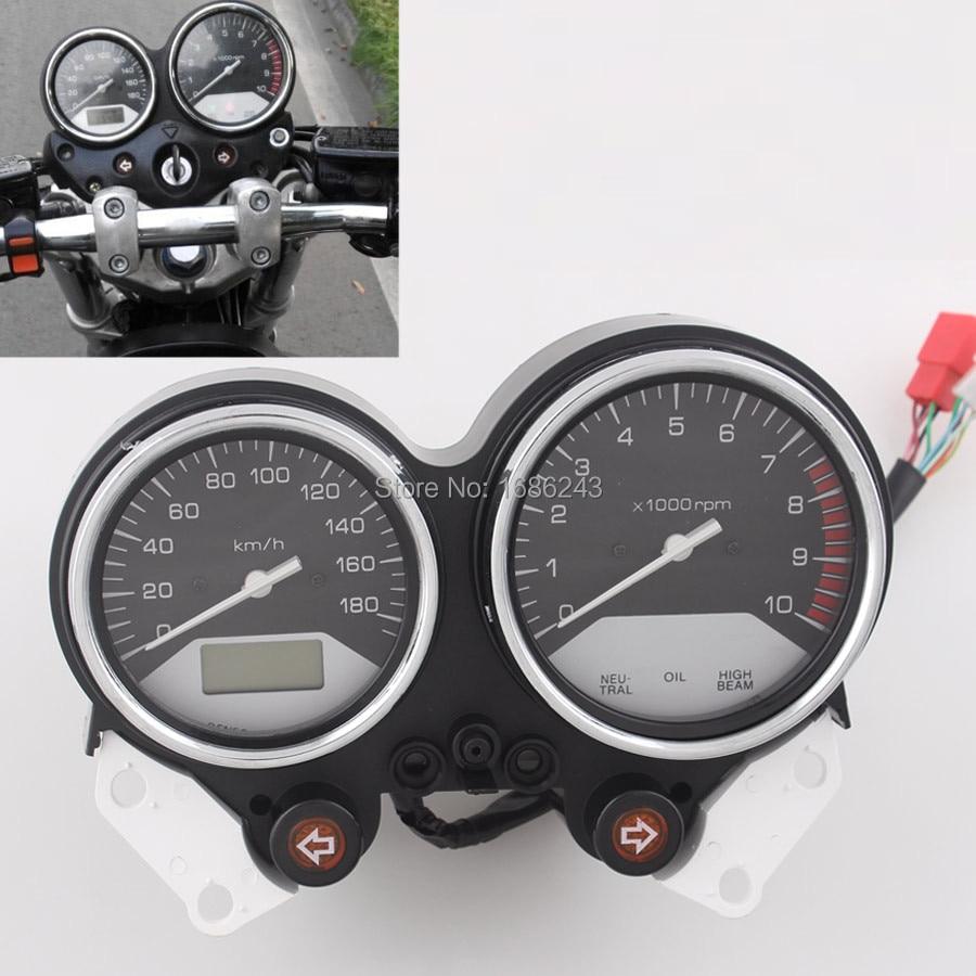 Мотоциклетные датчики Спидометр Тахометр кластер Подходит для Honda X4 CB1300 1997 - 2003 2002 2001 1999 1998 инструментальный одометр