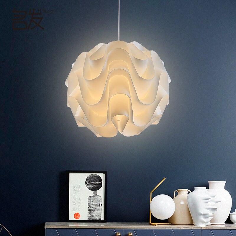 Современные подвесные светильники белого волна шар подвесной светильник для