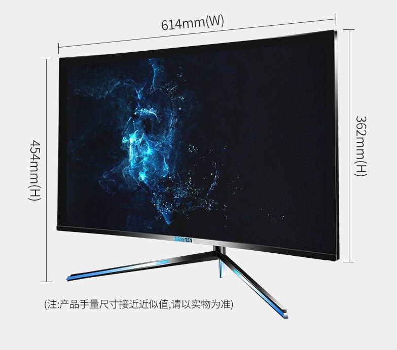 P24WEHS 27 pulgadas Songren 4K (3860*2460) LCD LED IPS HD pantalla de juego de competición PS4 Pantalla de 27 pulgadas 4K 60HZ