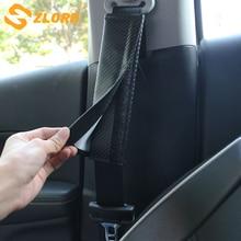 Zlord – housse de ceinture de sécurité en cuir PU pour enfants, Protection des épaulettes, rembourrage, accessoires automobiles