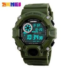 SKMEI montres numériques hommes professionnel étanche Sport montre LED militaire mode décontracté hommes montres horloge chaude