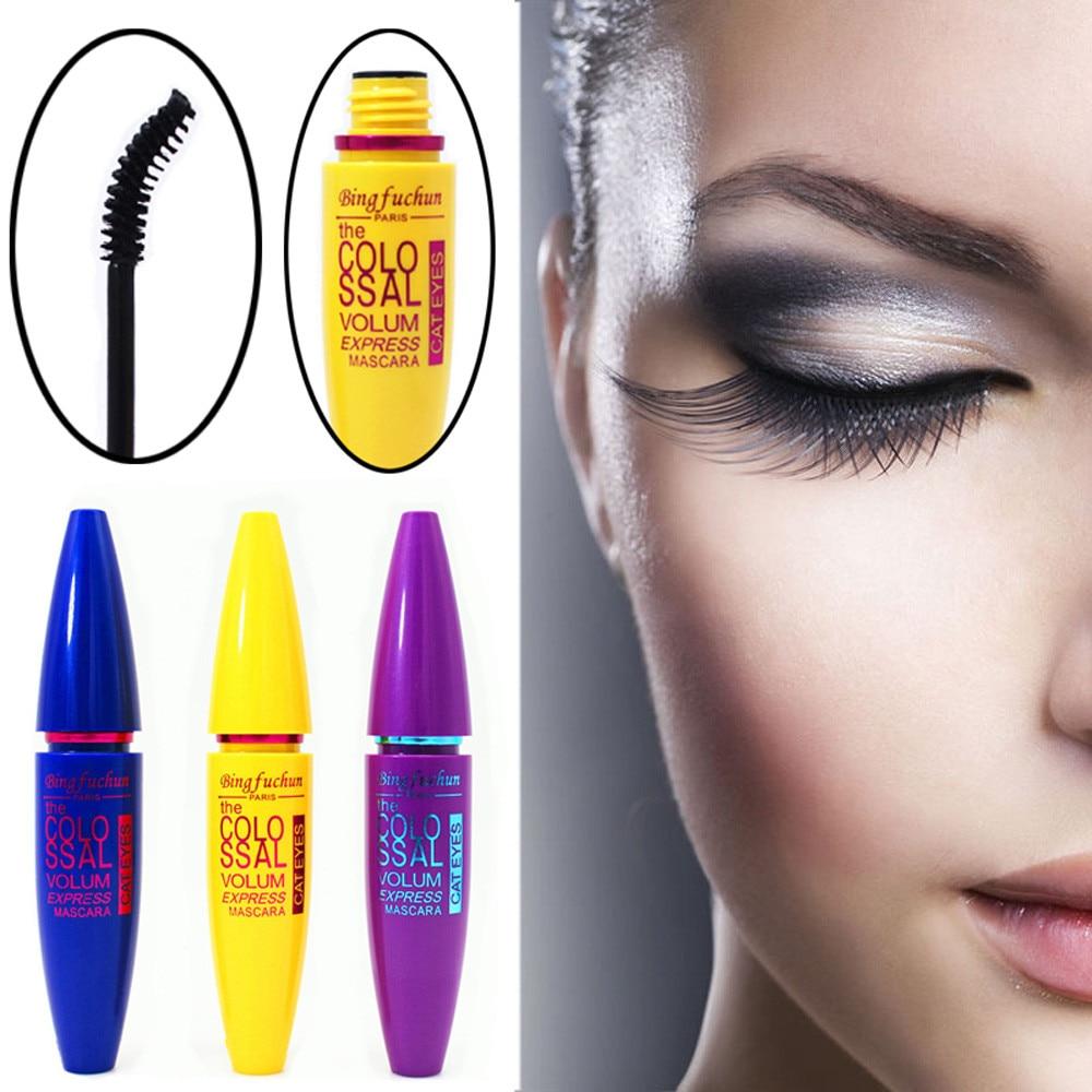 Maquillaje cosmético negro, pestañas, extensión impermeable, pestañas rizadas, 12g, maquillaje resistente al agua