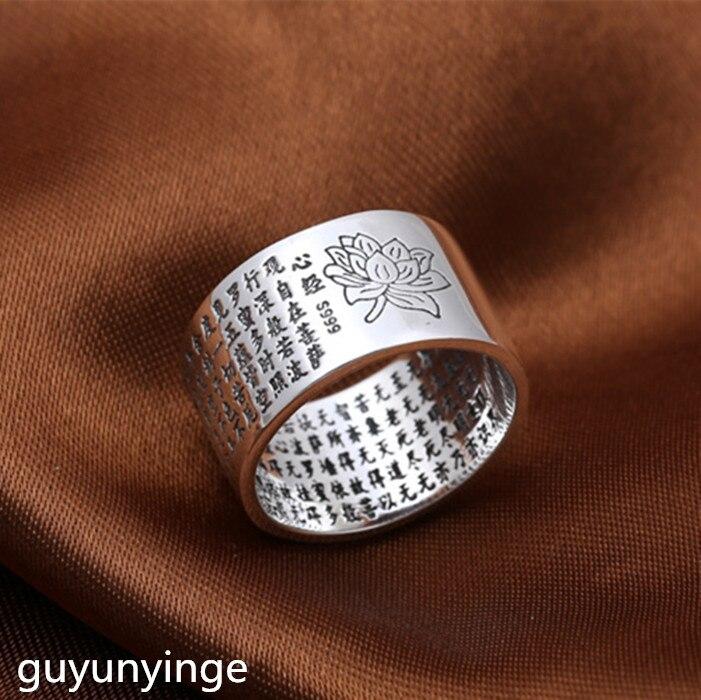 KJJEAXCMY Boutique jewelry S999 Стерлинговое Серебро, классика, сердце лотоса, мужской и женский креативный подарок, тайское серебро