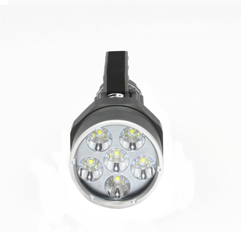 Diving Light 6 x  L2 7200LM Diving flashlight Waterproof lamp Scuba Underwater 100M work torch + 2x 32650 batteries +Charger enlarge