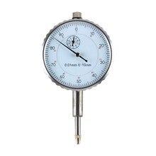 Indicateur de précision 0.01mm indicateur de mesure à cadran rond outil de mesure de précision 0-10MM horloge de mesure externe offre spéciale