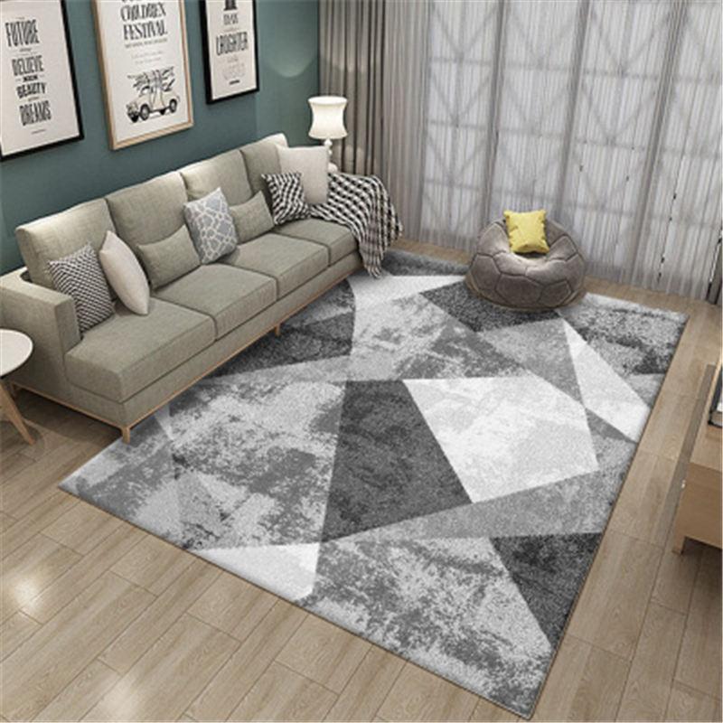 Alfombras de gran tamaño para sala de estar, alfombras de rayas modernas geométricas, manta para dormitorio, mesita de noche, alfombra suave para sala de estudio, alfombras de teppich