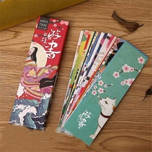 30 pièces/lot mignon Kawaii papier signet Vintage Style japonais marques de livre pour enfants matériel scolaire