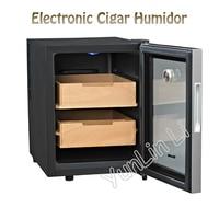 33L Electronic Cigar Humidor Cigar Humidification Wardrobe Box Constant Moisturizing Cigar Storage Cabinet SC-12AH