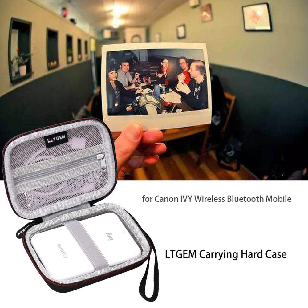 LTGEM EVA жесткий чехол для Canon Ivy беспроводной Bluetooth Мобильный портативный мини-фотопринтер