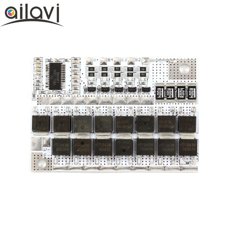 5S 50A bateria de Polímero de 3.7 V Li-ion Bateria Testador de Proteção Com Equilíbrio Aplicar Para li-ion Bateria Lipo Pack Módulo