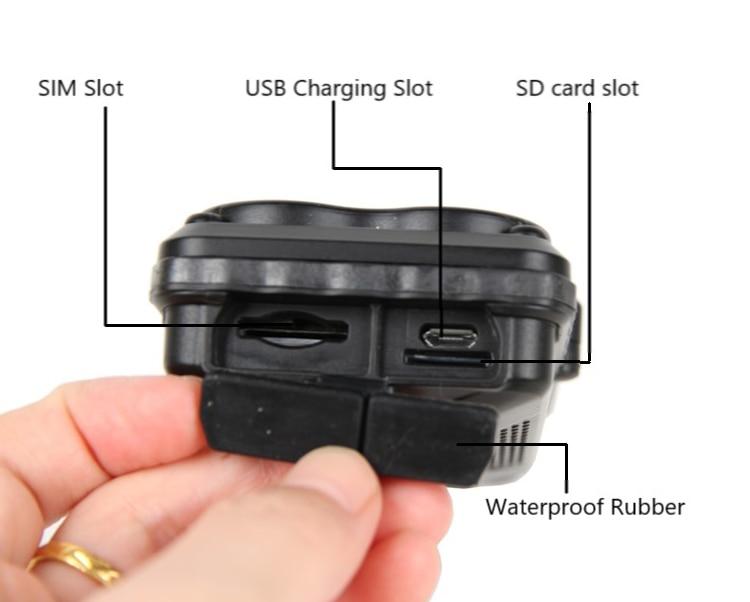 KINGNEED TK05 Coche magnético vehículo portátil con batería impermeable SOS WIFI rastreador gps registro de seguimiento sin tarjeta sim