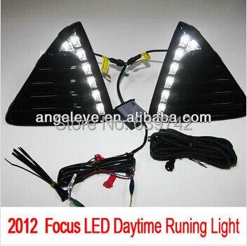 2012-año 2013 para Ford para el foco 3 LED DRL LED luz diurna antiniebla TWV2