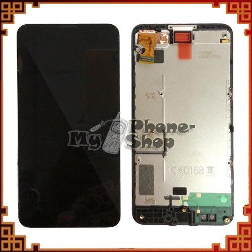 Para Nokia Lumia 630 635 pantalla LCD con montaje de digitalizador de pantalla táctil con marco envío gratis