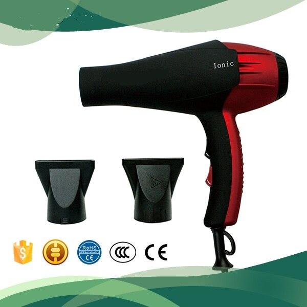 Secador de pelo iónico profesional con enchufe de 220v y 2200w, cepillo de aire caliente, secador de pelo, estilismo para salón de barbería, herramienta de peluquería