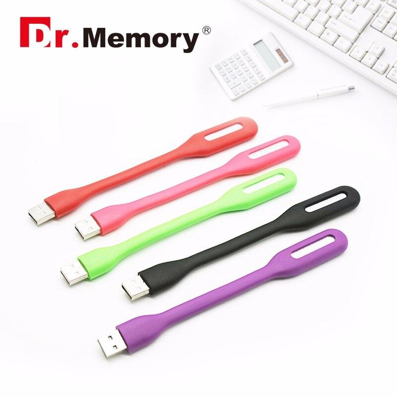 Groothandel 100 stks/partij USB led Light 1.2 w USB licht kleurrijke sillicone USB 2.0 licht voor laptop computer xiaomi power bank