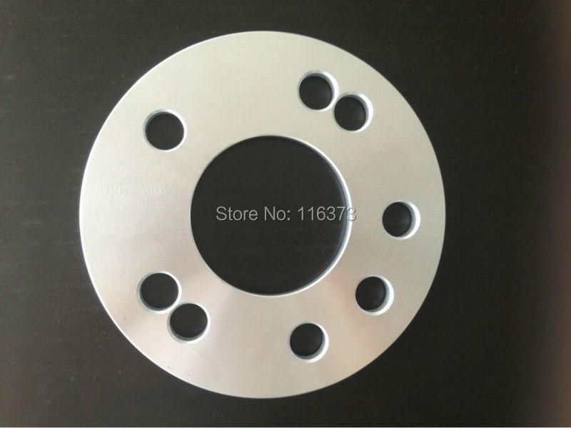 1 par 5x108mm Espaçadores De Roda HubCentric boleto 7mm espessura 65.1mm furo do cubo