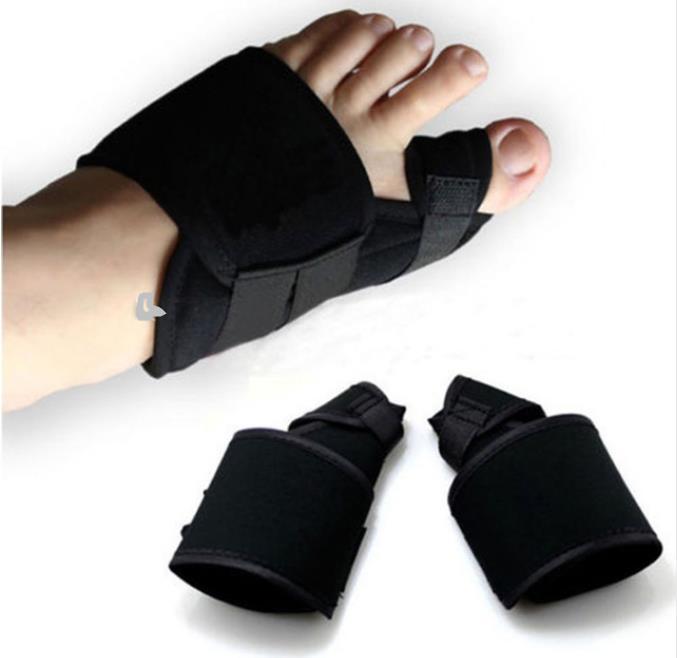 2 unids/lote separador de dedos grandes férula Corrector de juanete suave dispositivo médico Hallux valgus pie cuidado pedicura órtesis