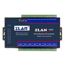 Modułu akwizycji danych analogowych, cyfrowy modułu akwizycji, przełącznik ilość, aby zebrać kontroler IO ZLAN6802.