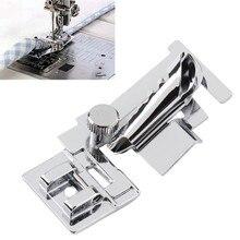 Krajowych akcesoria do maszyn do szycia powłoki stopka dociskowa stopka z lamownikiem 9907 CY-9907 AA7021-2
