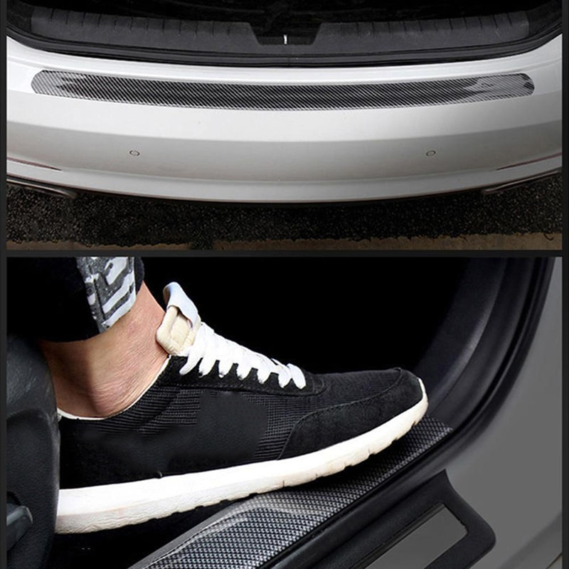 Guard Protector Trucks Sill Protector Black Accessories Car Door Replacement 2.5m*5cm Sticker
