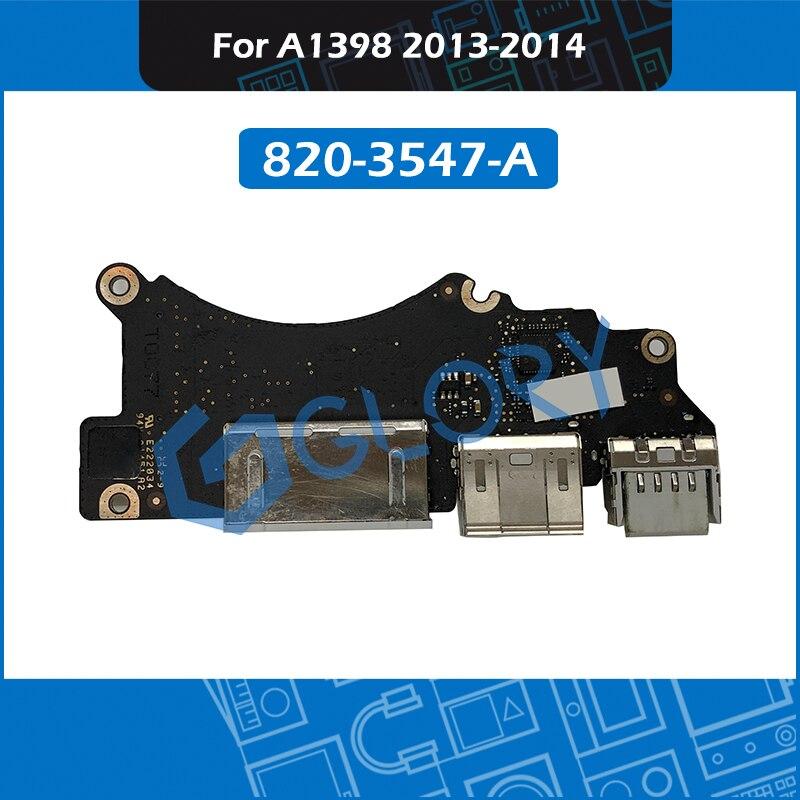 USB HDMI кардридер I/O плата 820-3547-A для MacBook Pro Retina 15