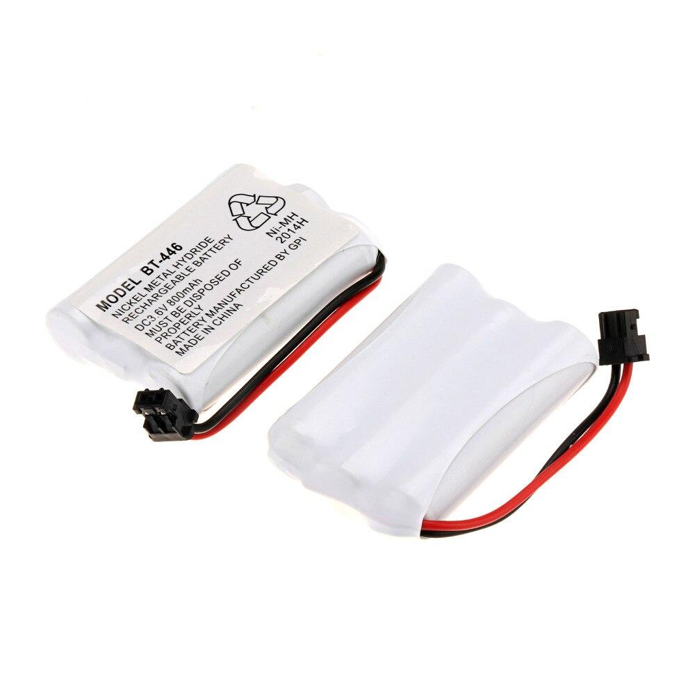 Nuevo Teléfono doméstico inalámbrico 800 mAh 3 piezas un conjunto de batería Ni-MH para Uniden BT-446 BT446 ER-P512