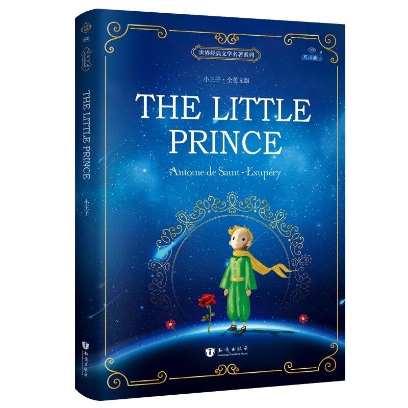 Nuevo libro The Little Prince, libros clásicos del mundo en inglés