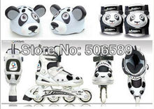 free shipping children's roller skates Panda