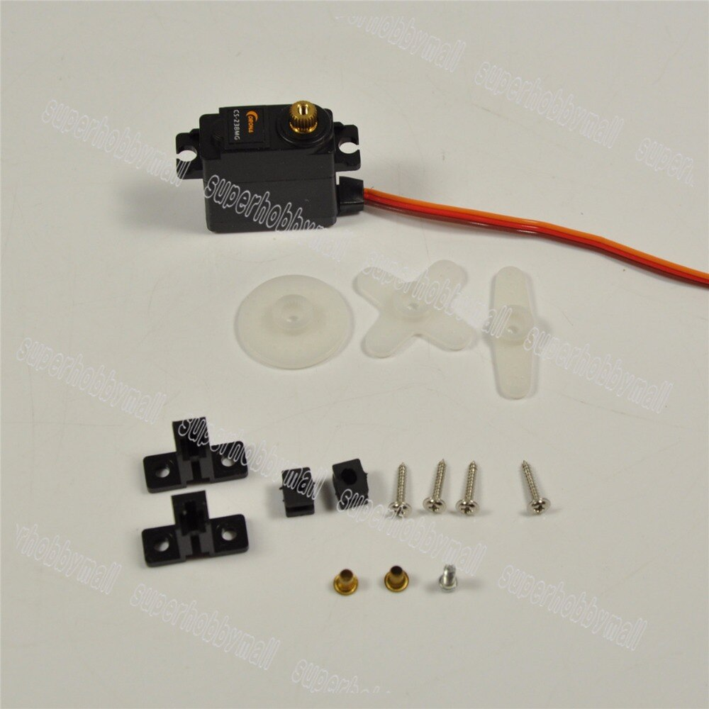 Corona 22g/4,6 kg/. 14 segundos rodamiento de bolas Digital Servo DS-238MG para Avión RC