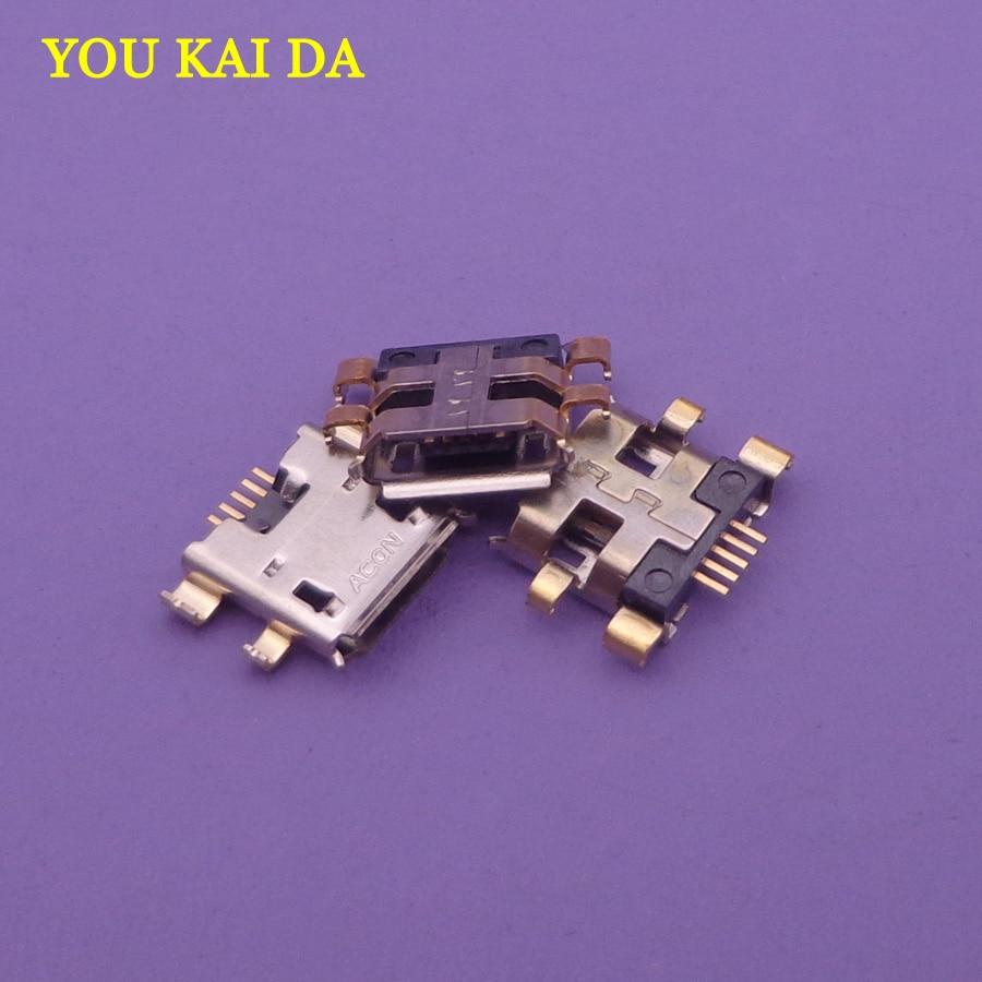 2 ~ 10 pcs 5pin Mini USB jack Para Asus Google Nexus 2nd Gen 2013 2012 1st 7 Micro USB cobrando conector de porta