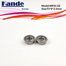 Roulements miniatures Kande   10 pièces MF63ZZ MF63Z MF63 Z MF63 ZZ MF63, paliers de roulement à bride