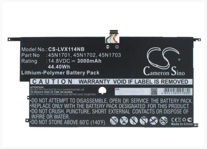 Cameron Sino batería de 3000mAh para LENOVO 20A7 20A8 ThinkPad X1 carbono 14 carbono 4th 00HW002 00HW003 45N1701 45N1702 45N1703