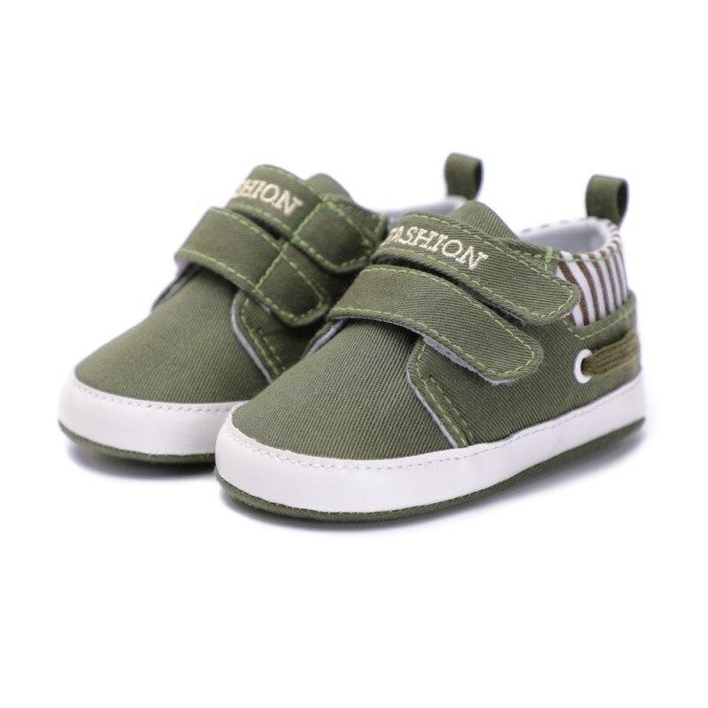 Новая парусиновая обувь для маленьких мальчиков и девочек, модная обувь для новорожденных с двумя ремешками для детей 0-18 месяцев