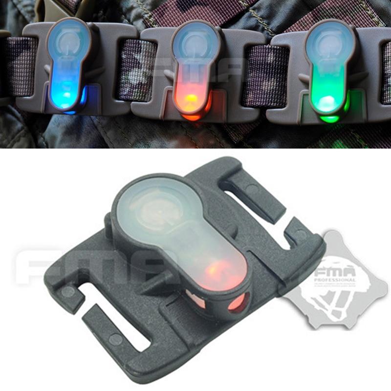 FMA S-LITE System Helmet Safety Light 6 Color Survival Waterproof Lamp High&Low Temperature Resistance Molle Strobe Signal Lihgt