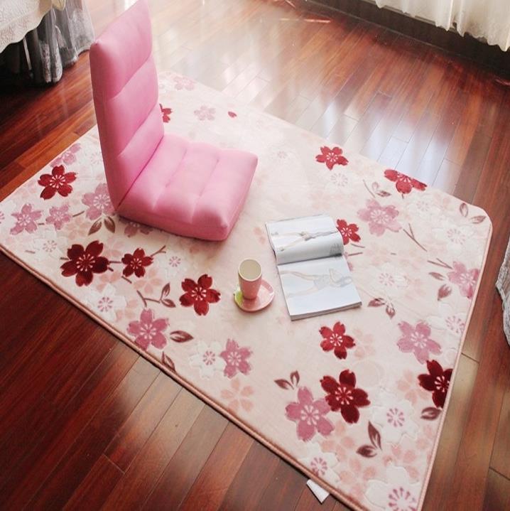 سجادة مزهرة 130 × 185 سم لغرفة المعيشة وسجاد منحوت يدويًا لغرفة النوم وسجاد منطقة الرعوية وسجادة لعب للأطفال