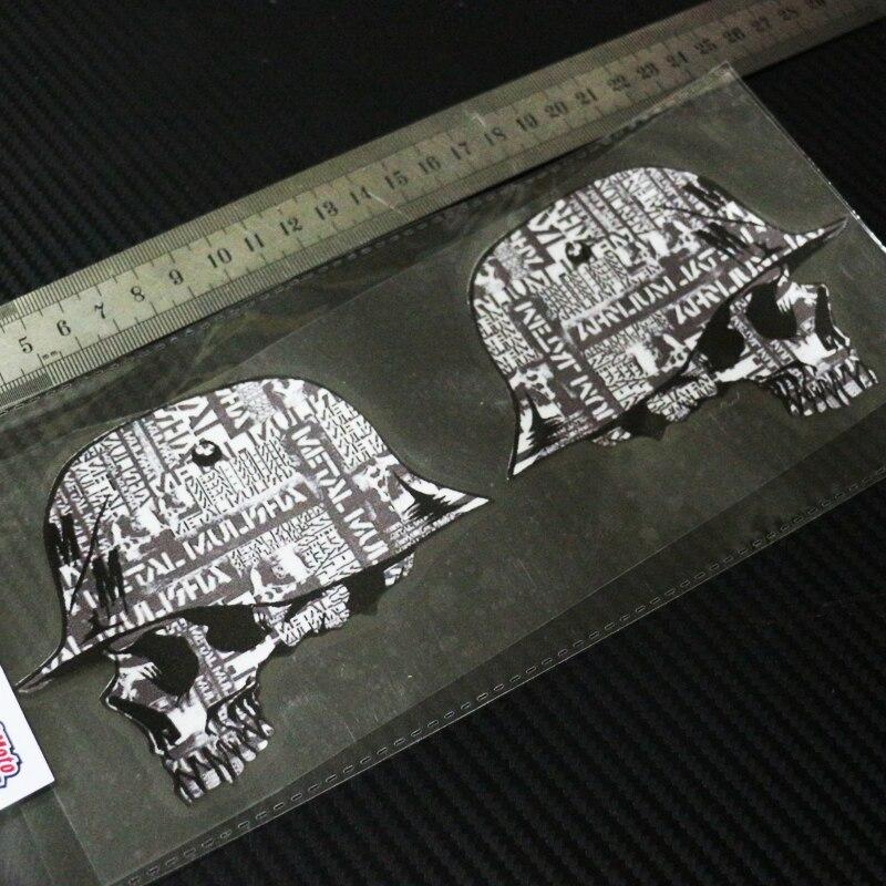 Sixsub X2 металлическая наклейка MULISHA #6 мото автомобили отражательные переводные наклейки водонепроницаемый солнцезащитный крем