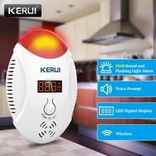 Corina Led Digitale Display Koolmonoxide Detectoren Voice Strobe Home Security Veiligheid Co Gas Carbon Alarm Detector Sensor Alarm