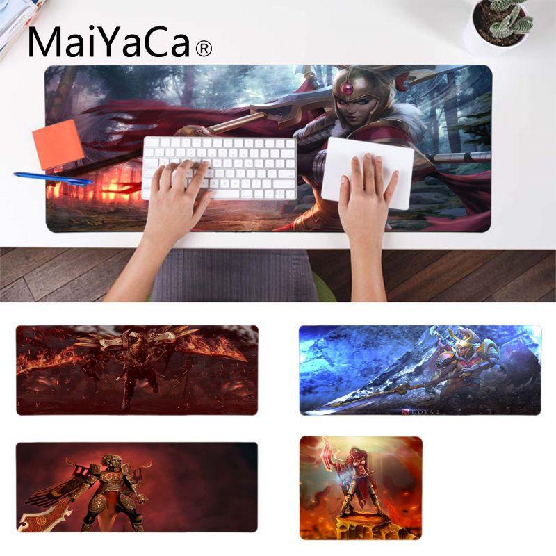 MaiYaCa antideslizante para PC Dota 2 Legion Commander ratón de goma Durable de escritorio alfombrilla de ratón de goma duradera