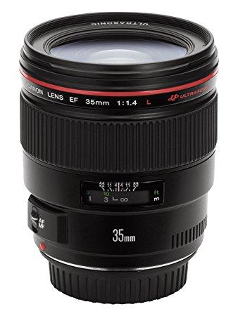 كانون EF 35 مللي متر F/1.4L F1.4 L USM عدسة ضبط تلقائي للصورة واسعة الزاوية ل 6D II 5D III 5D IV 1DX 80D 77D 800D