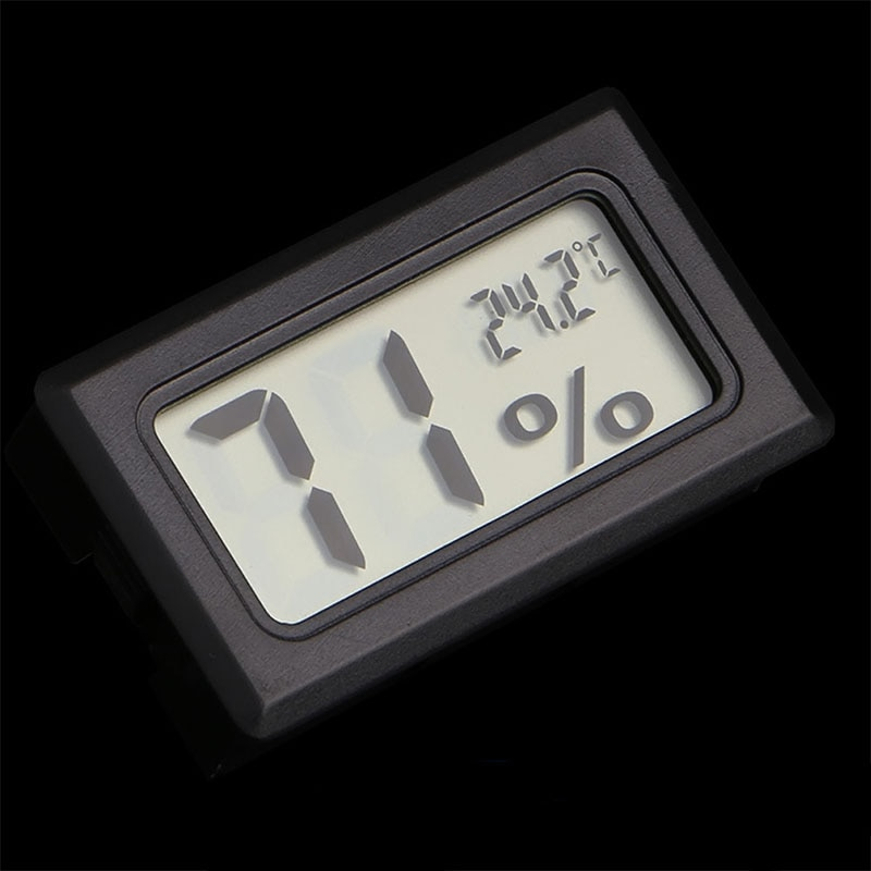 Digital LCD Thermometer Hygrometer for Pet Ant Farm Reptiles Turtle Box Temperature Sensor Humidity
