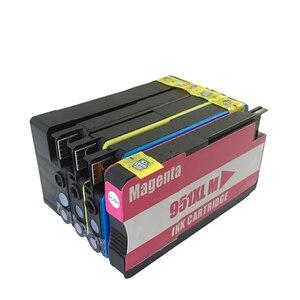 Картриджи для принтера HP Officejet Pro 8600 8620 8630 276dw 8640 8660 8615 8625 251dw 271dw, совместимый с HP950 951xl