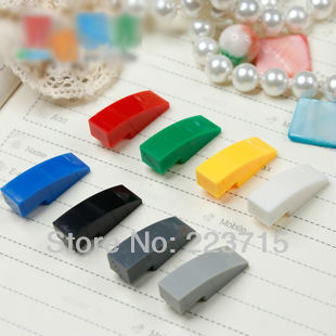 Free Shipping!50950 50pcs *Brick W. Bow 1/3* DIY enlighten block bricks,Compatible With Assembles Particles