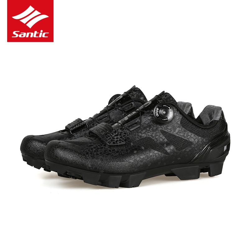 Santic 2019 MTB zapatos de Ciclismo para hombre Pro, zapatos de bicicleta de montaña TPU, cómodos zapatos de bicicleta autoblocantes, Zapatillas de Ciclismo 2 Colo