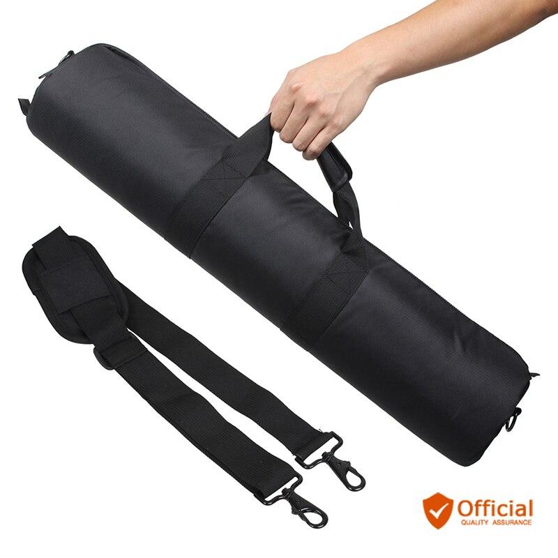 Negro 80cm 75cm 70cm 65cm 60cm 55cm acolchado correa de la cámara del trípode bolsa Estuche De Viaje para productos Gitzo Velbon Tripod Monopod bolsa