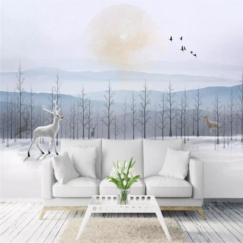 الفني المشهد الربيع التلفزيون حائط الخلفية المهنية إنتاج جدارية مصنع الجملة خلفيات جدارية المشارك الصورة جدار