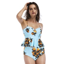 Nieuwe Hot Top Kwaliteit Peachy Gestreepte Peplum Reverse Bikini Set Sexy Micro Bikini