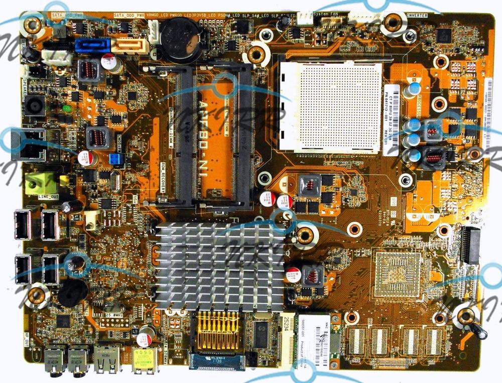 641713-001 634279-001 APP80-NI REV 1.03F النظام اللوحة لإتش بي AIO أومني 100 100-5000 100-5100 100-5200 5111cx 5030uk