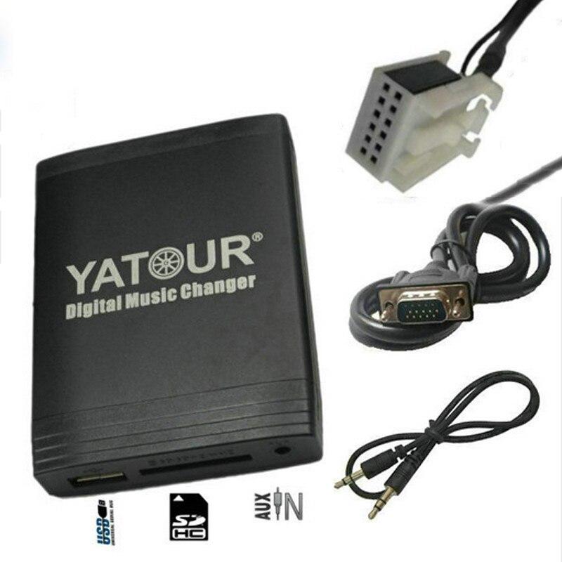 Yatour YT-M06 for VW passat Jetta Golf Polo Tiguan Audi A3 A4 S4 Skoda Seat Car MP3 Player USB AUX SD Adapter Digital CD changer