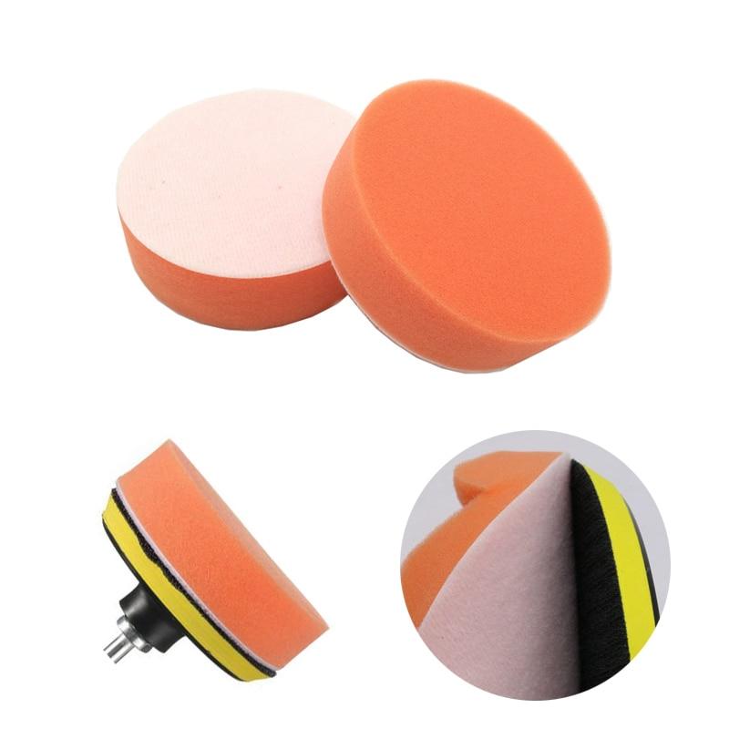 1PC Car Polisher Sponge Polishing Buffing Pad Wool Pads 3' 4' 5' 6' 7' Polishing Disc Auto paint Care Cleaning Pad